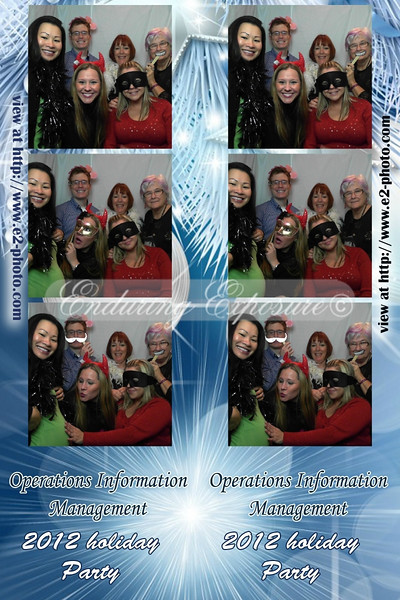 OIM 2012 Holiday Party