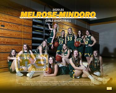 Melrose-Mindoro girls basketball GBB2021