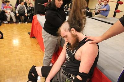 Hair vs. Hair Gauntlet Match Frank the Crank vs. Underground Anarchy