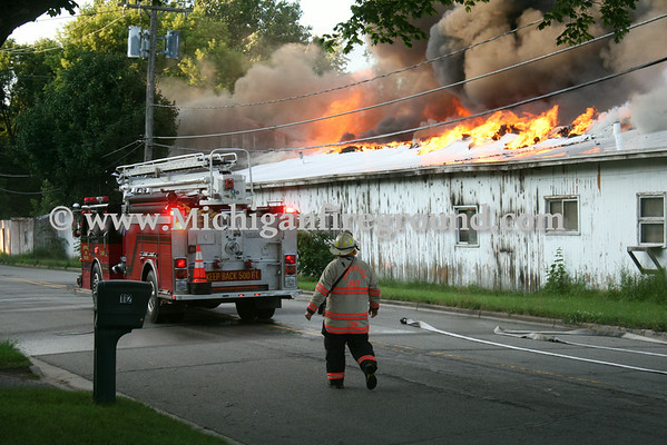 7/8/14 - Leslie industrial fire, 113 Covert St