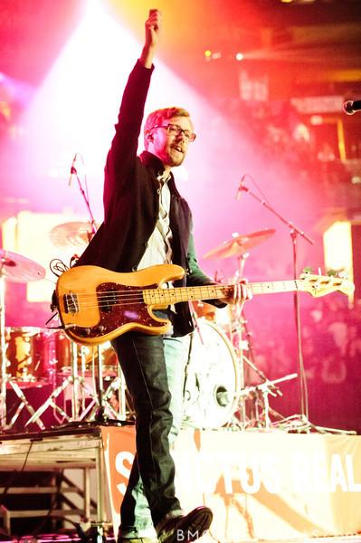 Dan Gartley of Sanctus Real performs on January 14, 2011 during Winter Jam at Tampa Bay Times Forum in Tampa, Florida