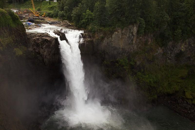Snoqualmie Falls, Washington.