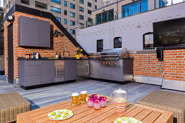 Stationary Outdoor Kitchens