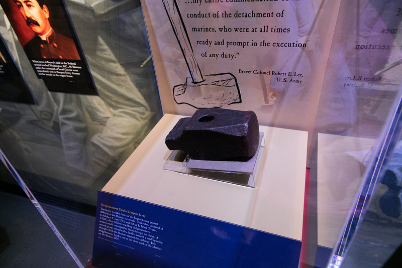 Sledgehammer Used at Harpers Ferry