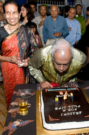 Tan Sri Ramon Navaratnam's 75th birthday