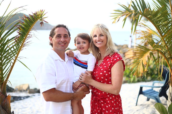 Brian & Sarah Family Portraits