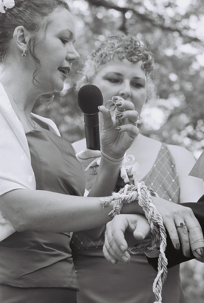 Handfasting and Ring Ceremony