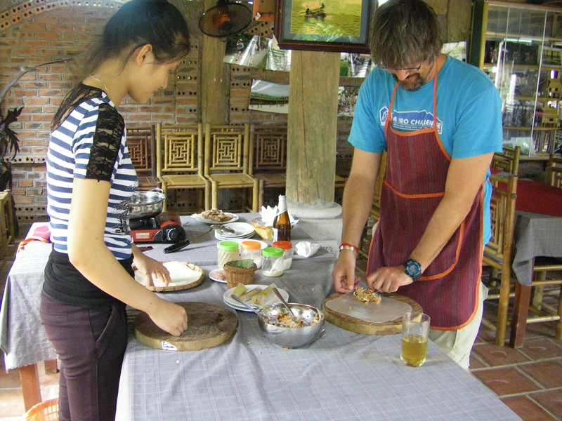 Vietnamese cooking class in Dry Halong Bay (1)