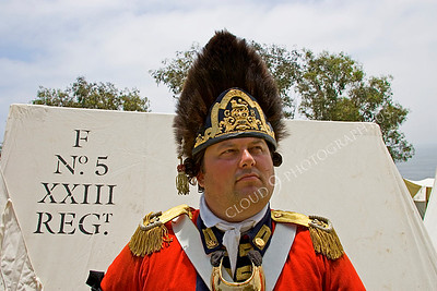 Pictures of Historical Re-Enactors of American Revolutionary War British Redcoats