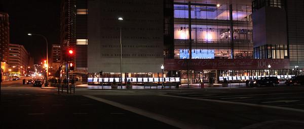 WASHINGTON, DC STREETS (NIGHT)