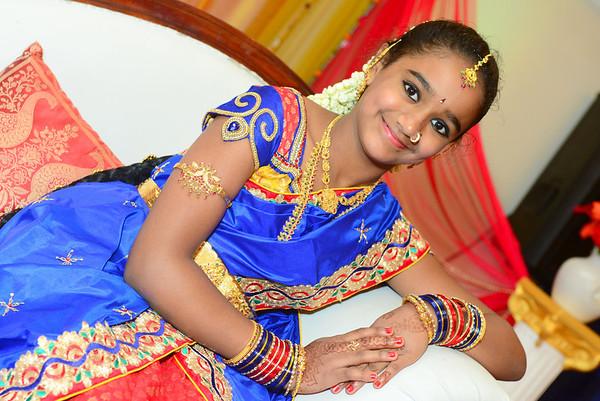 Akshitha's Saree Ceremony