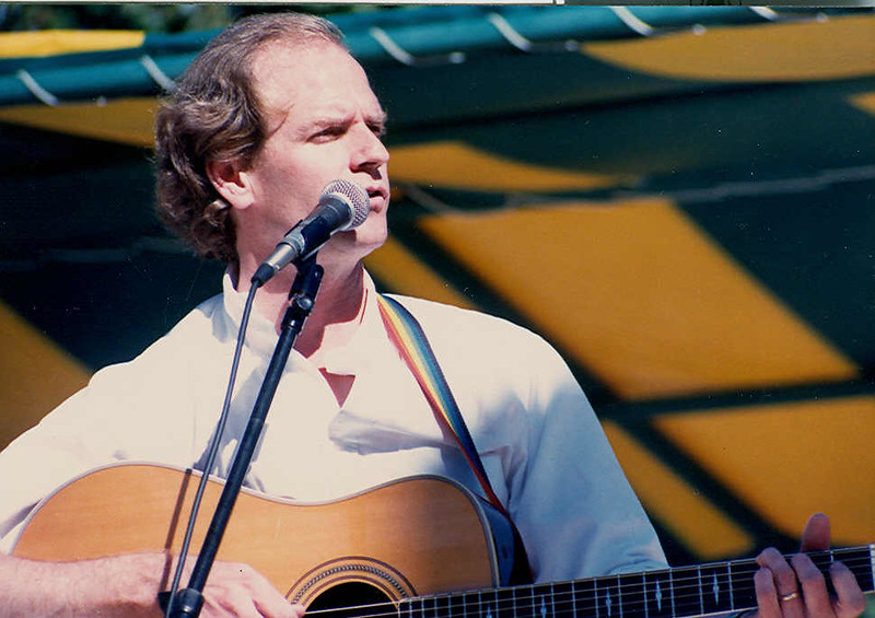 Livingston Taylor performing at Greensboro, NCs festival. Great show!