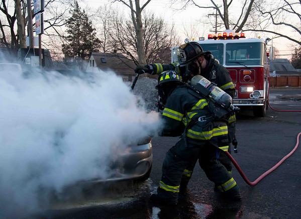 Box 13-34 WaWa Car Fire 2/16/2011