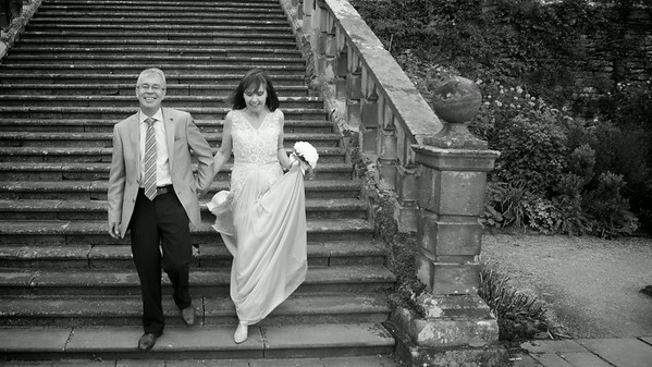 June and David Haddon Hall Bakewell Derbyshire
