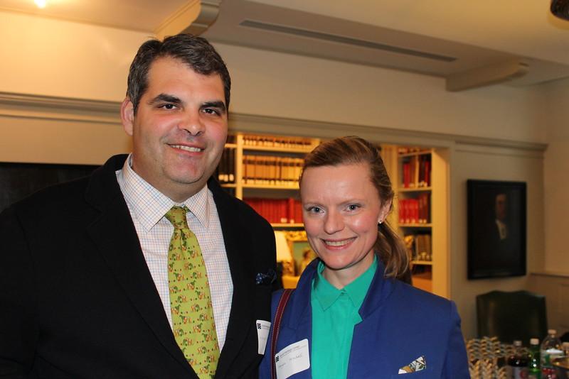 Matthew Mitchell and Magda Malak Mitchell