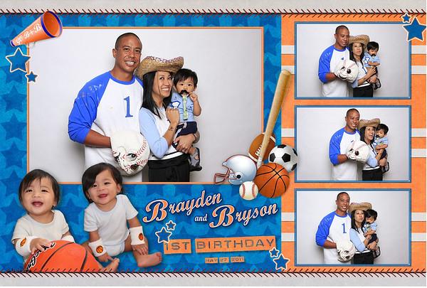 Brayden & Bryson's 1st Birthday (Fusion Portraits)