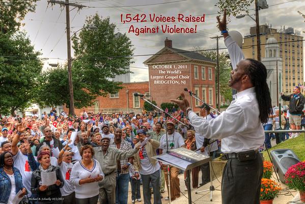 1,542 Voices Raised Against Violence