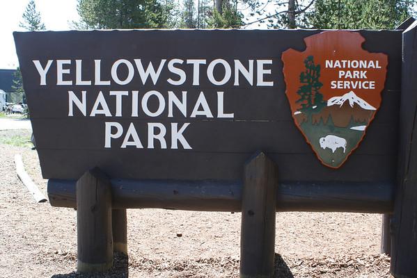 RVing 2013 Summer Yellowstone NP