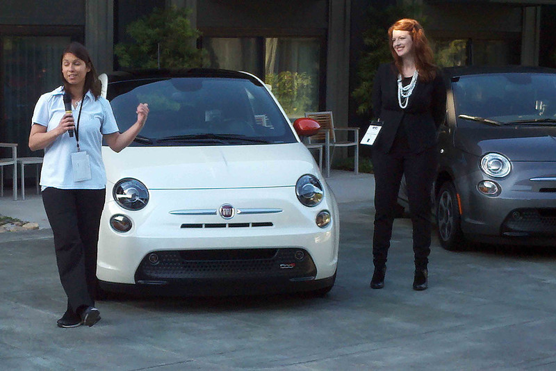 Allison Singer, VIR for the Abarth, talks about the new Abarth.