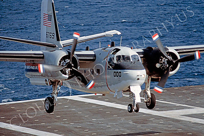 US Navy Grumman C-1 Trader Airplane Aircraft Carrier Pictures
