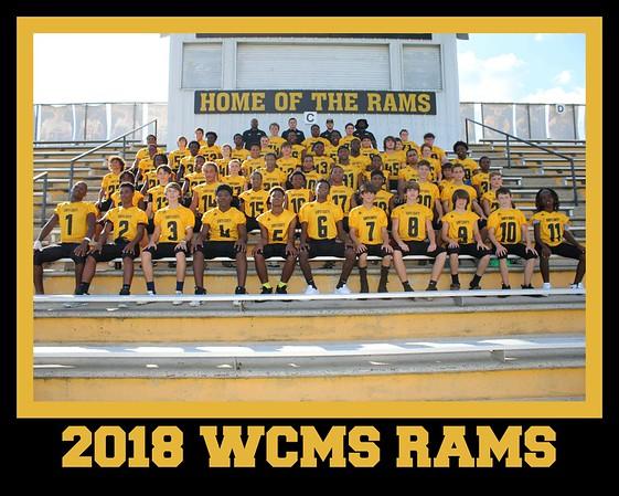 2018 WCMS RAMS FOOTBALL