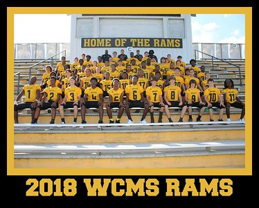 2018 WCMS RAMS FOOTBALL
