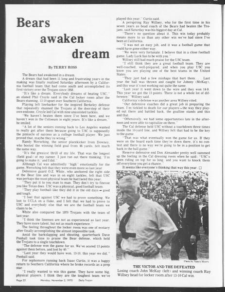 SoCal, Vol. 62, No. 29, November 02, 1970