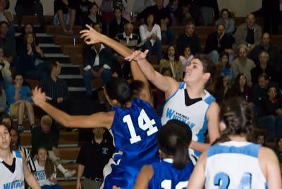 Girls Basketball Whitman vs Blake