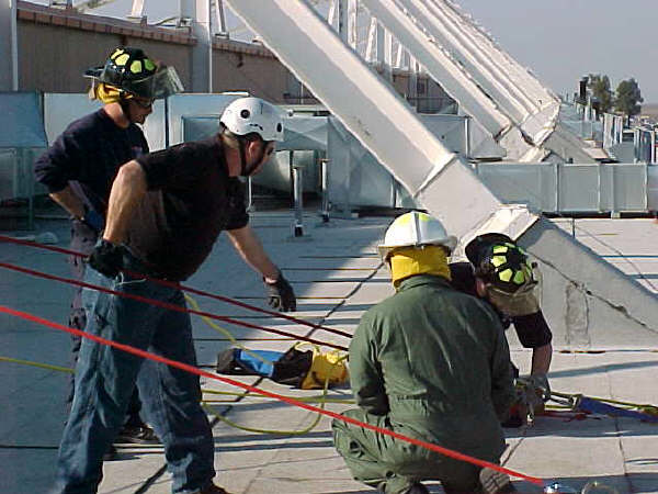 Naval Air Station Leemore, Ca. Confined Space Rescue