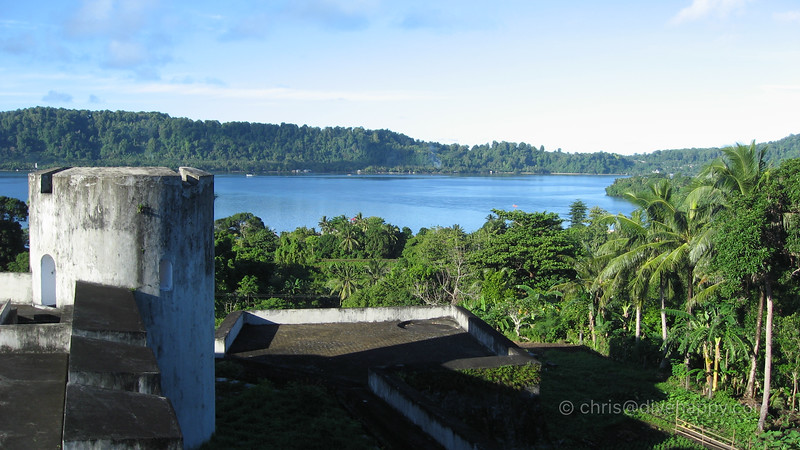 View From Fort Belgica On Banda Naira Island © Chris Mitchell