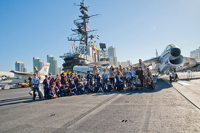 1519 Boy Scouts USS Midway