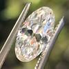 1.64ct Antique Moval Cut Diamond GIA G VS1 5