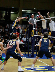 William Penn Men's Volleyball vs Clarke 012120