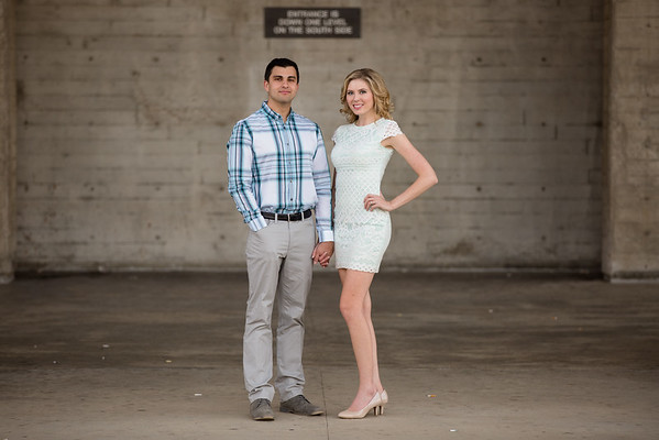 Lesley & Daniel @ UCSD, Scripps Pier