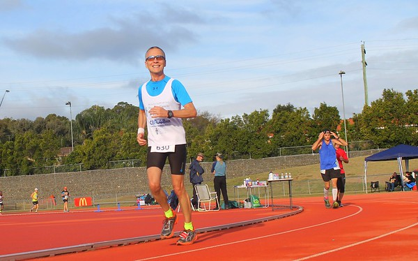 Sri Chinmoy 24 hour, 12 hour and 6 hour races, Cambelltown Sports Stadium Athletics Centre, 18 & 19 June 2016