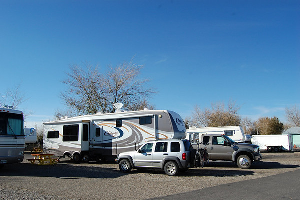 Journal Site 109:  Mom & Pop's RV Park, Farmington, NM - November 12, 2008