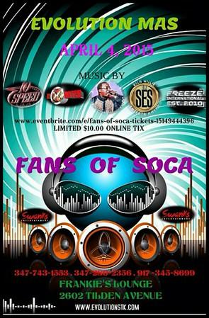 04/04/15 Fans Of Soca