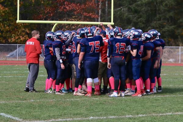 Tri-Valley vs. Spackenkill Eight Man Football Playoff Quarterfinals