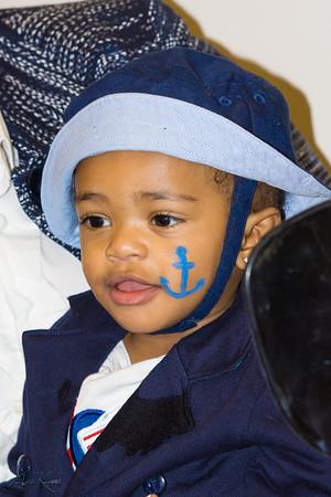 Dahmari's 1st Nautical Mickey Birthday Celebration