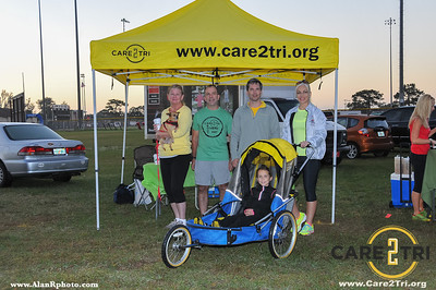 Care2Tri at Frosty 5k 2013