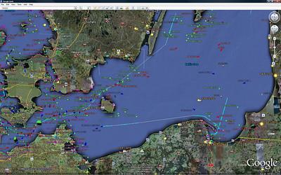 Emerald Princess Baltic Cruise Map