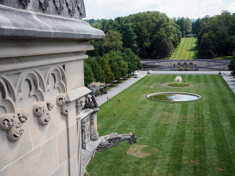On the roof of the Biltmore