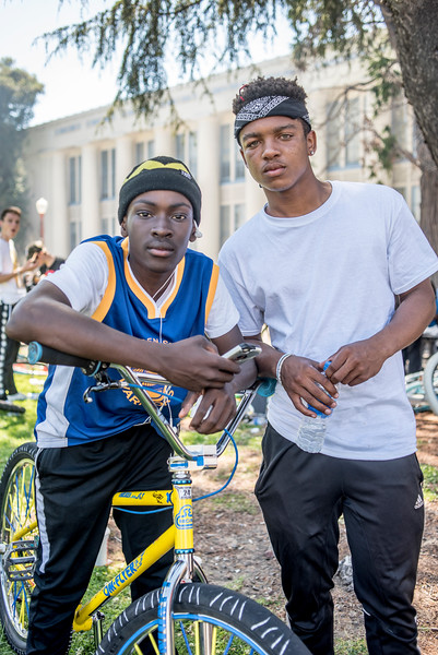 Oakland Ride Out portraits