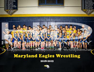 Maryland Eagles Wrestling Team 2-28-19