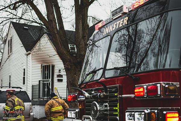 Inkster MI, House Fire 3-14-2020