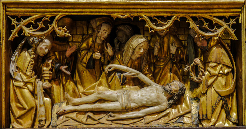 Dijon Beaux Arts Museum - Passion Altarpiece  - The Entombment