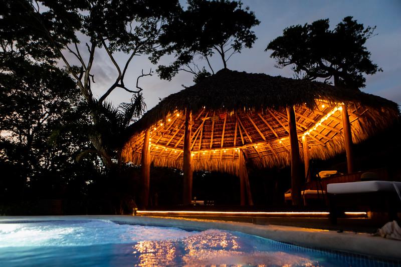 BBQ/Pool at Villa Palmera- Villas Playa Maderas