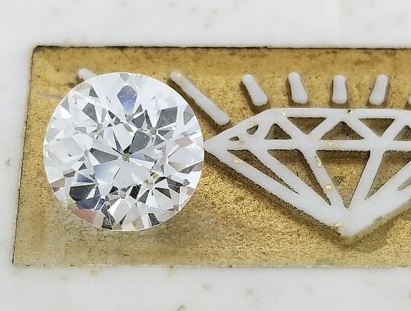 1.93ct Old European Cut Diamond - GIA K, VS1