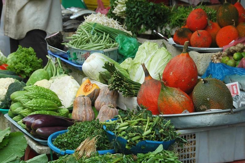 Vegetable Stand  - Ho Chi Minh City, Vietnam