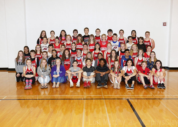 SNMS Track Team 2019